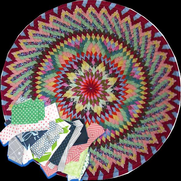 Из чего можно сделать коврик?