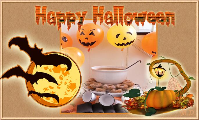 Поздравление с Хэллоуин