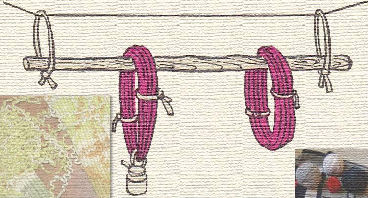Из какой пряжи вяжут коврики крючком?